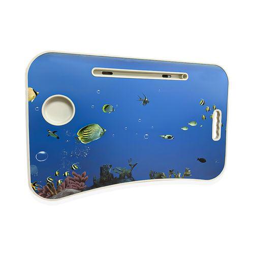 Mesa Plegable Portátil  Notebook Multifuncional Diseño Peces 784141