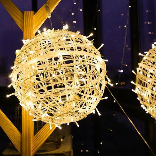 Bola De Luz led Grande 37 cm Decorativa Colgable Navidad